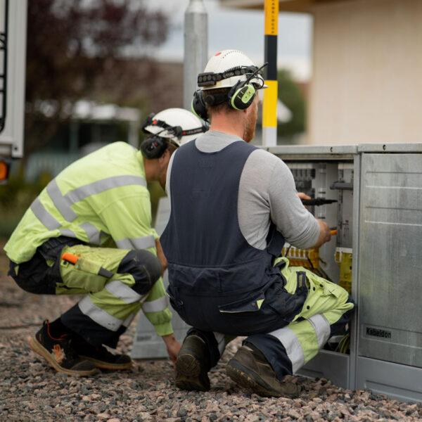 elektriker elskap puff