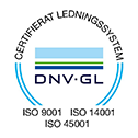ISO 9001 ISO 14001 ISO 45001 COL